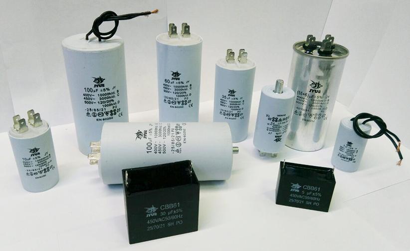 Моторні і пускові конденсатори