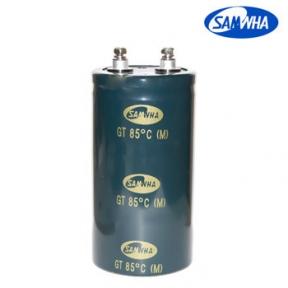 3900mkf - 400v  GT 64*160  SAMWHA (клеми з гвинтовим кріпленням) -25°C ~ + 85°C